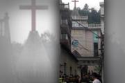 Hundreds of Crosses Removed